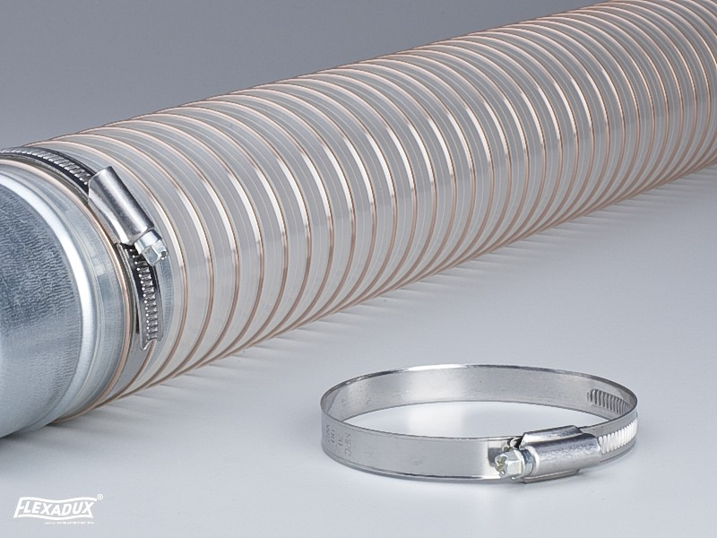 FLEXADUX<sup>®</sup> Hose Clamp with worm drive